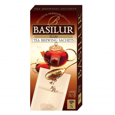 Фильтр-пакеты Basilur для чая 80 штук