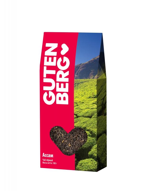 Чай чёрный индийский Gutenberg Ассам 600 г