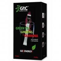Чай GTC зеленый китайский с женьшенем в стиках 15шт х 2 г