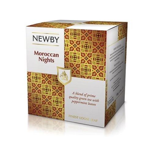 Чай Newby Мароканские Ночи зеленый листовой 100 гр