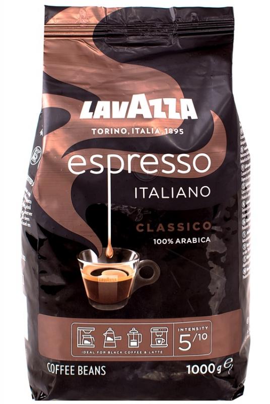 Кофе Lavazza Espresso в зернах 1 кг - купить в интернет магазине MugDuo