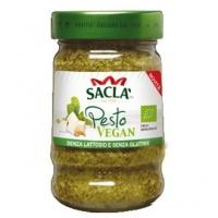 Песто-соус Sacla по-генуэзски с тофу Био 190 гр