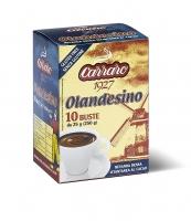 Растворимое какао в саше Carraro Cacao Olandesino 250 г (10шт)