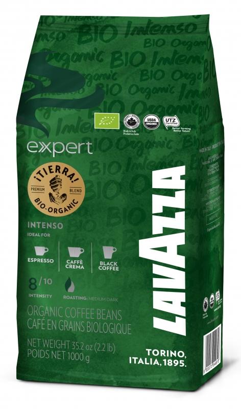 Кофе в зернах Lavazza Tierra Expert Bio Organic 1 кг