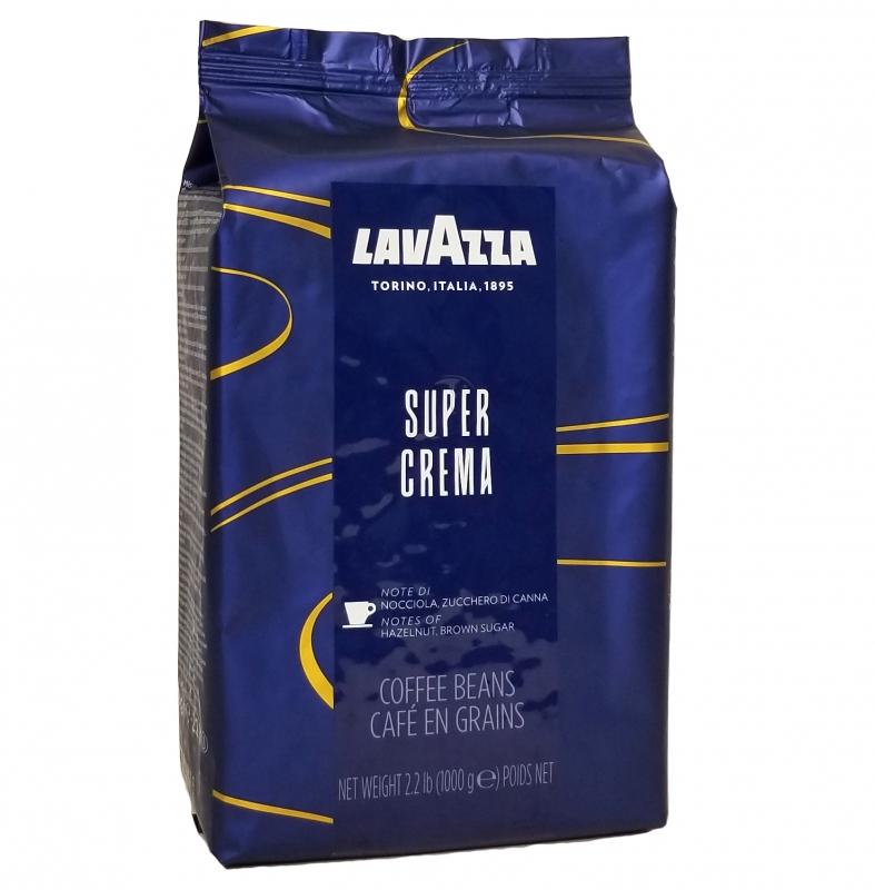 Кофе Lavazza Super Crema Espresso в зернах 1 кг - купить в интернет магазине MugDuo