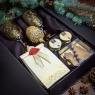 Пряный подарочный набор в лаконичной упаковке «Черное притяжение»