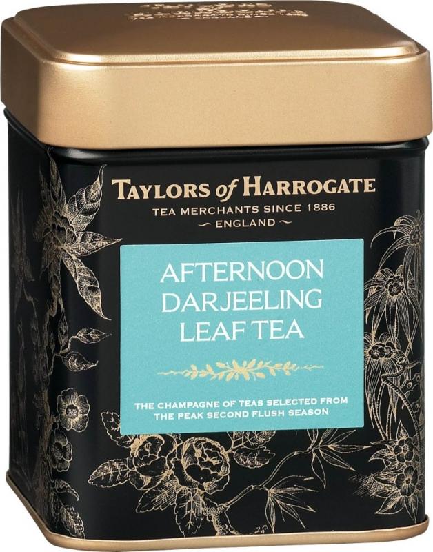 Чай черный Taylors of Harrogate листовой Дарджилинг Полдник 125 гр