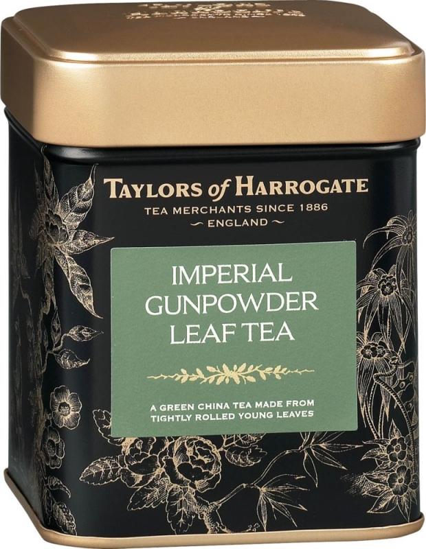 Чай зеленый Taylors of Harrogate листовой Имперский порох 125 гр
