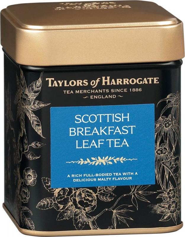 Чай черный Taylors of Harrogate листовой Шотландский завтрак 125 гр