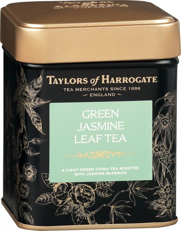 Чай зеленый Taylors of Harrogate листовой с цветками жасмина 125 гр