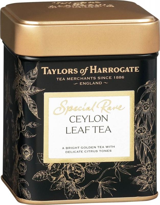 Чай черный Taylors of Harrogate листовой Цейлон с единой плантации 100 гр