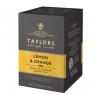 Чай черный Taylors of Harrogate с ароматом лимона и апельсина 20 пакетиков в упаковке 50 гр