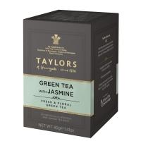 Чай зеленый Taylors of Harrogate с цветками жасмина 20 пакетиков в упаковке 40 гр