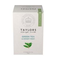 Чай зеленый Taylors of Harrogate Со сладкой мятой 20 пакетиков в упаковке 30гр