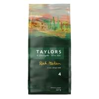 Кофе Taylors of Harrogate натуральный жареный молотый Богатый Итальянец 227 гр