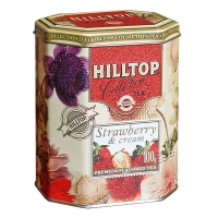 Чай Hilltop Земляника со сливками 100 гр