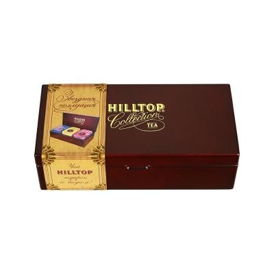 Чайный набор Hilltop Звездная коллекция - малая - 3 жестяные чайные банки внутри 170 гр