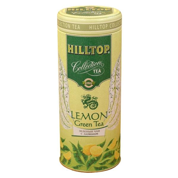 Чай Hilltop зеленый с лимоном 100 гр