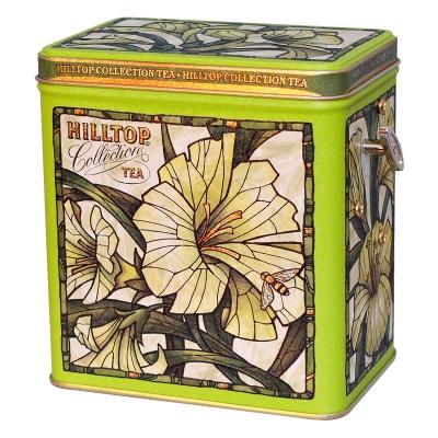 Чай Hilltop Зеленая симфония в музыкальной шкатулке Лилии 125 гр