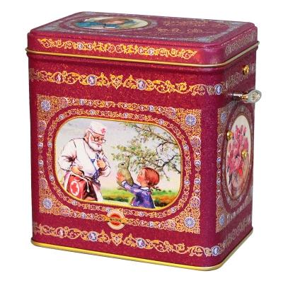Чай Hilltop Земляника со сливками в музыкальной шкатулке Лучшему доктору на свете! 125 гр