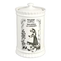 Чай Hilltop Земляника со сливками в керамической чайнице 125 гр
