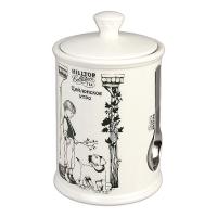 Чай Hilltop Цейлонское утро в керамической чайнице с мерной ложкой 125 гр