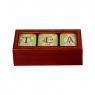 Чайный набор Hilltop TEA - 3 жестяные чайные банки внутри 150 гр