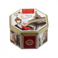 Чай Hilltop 1001 ночь в 8-гранной банке Парижские каникулы 150 гр