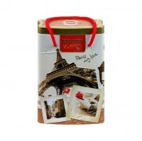 Чай Hilltop Королевское золото в банке-пакете Парижские каникулы 125 гр