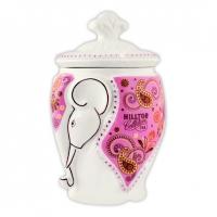 Чай Hilltop Земляника со сливками в керамической чайнице Слон  100 гр