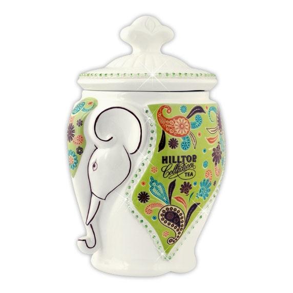 Чай Hilltop Жасминовый в керамической чайнице Слон 100 гр