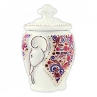 Чай Hilltop Подарок Цейлона в керамической чайнице Слон 100 гр