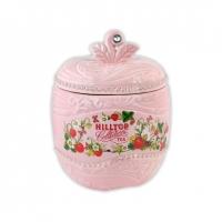 Чай Hilltop Земляника со сливками в керамической чайнице Яблоко 80 гр