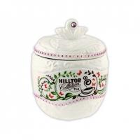 Чай Hilltop Цейлонское утро в керамической чайнице Яблоко 80 гр
