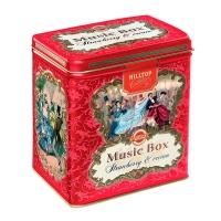 Чай Hilltop Земляника со сливками в музыкальной шкатулке 100 гр