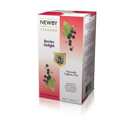 Чай Newby Ягодное Наслаждение 25 Пакетиков фруктовый 75 гр