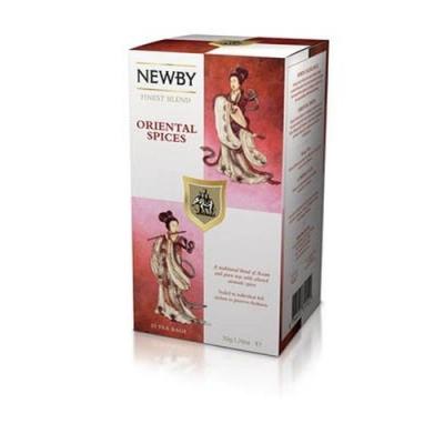 Чай Newby Восточные Пряности 25 Пакетиков черный 50 гр