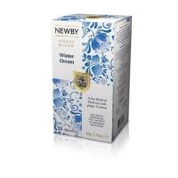 Чай Newby Зимняя Мечта 25 Пакетиков черный 50гр