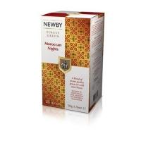 Чай Newby Марокканские Ночи 25 Пакетиков зеленый 50гр