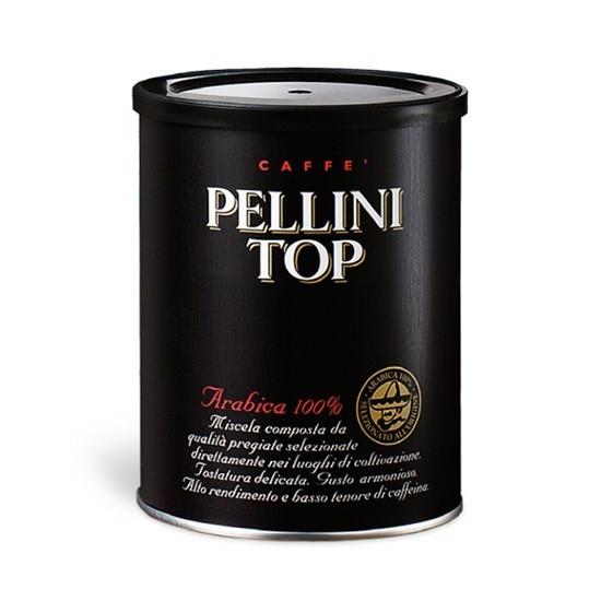 Кофе молотый Pellini Top в банке 250 гр