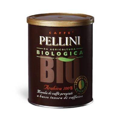 Кофе молотый Pellini BIO в банке 250 гр