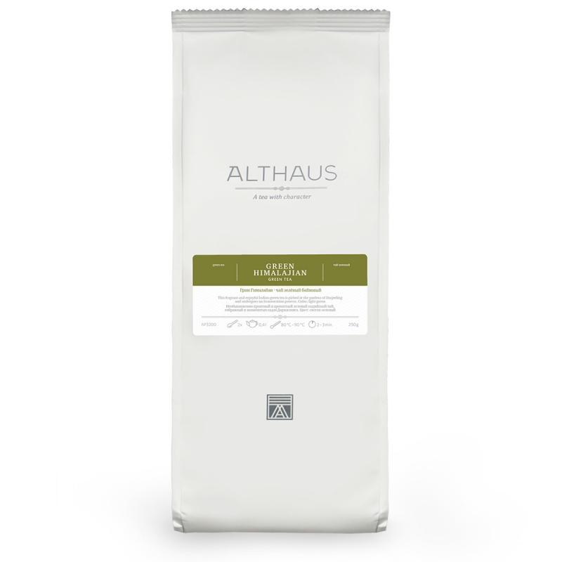 Чай Althaus Green Himalajian зелёный листовой 250 гр