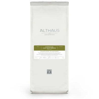 Чай Althaus Super Zhu Bao White зелёный листовой 70 гр