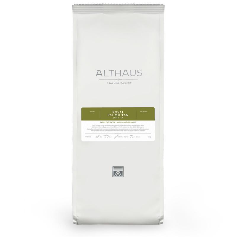 Чай Althaus Royal Pai Mu Tan зелёный листовой 65 гр
