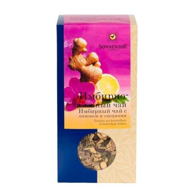 Имбирно-лимонный чай Sonnentor 80 г