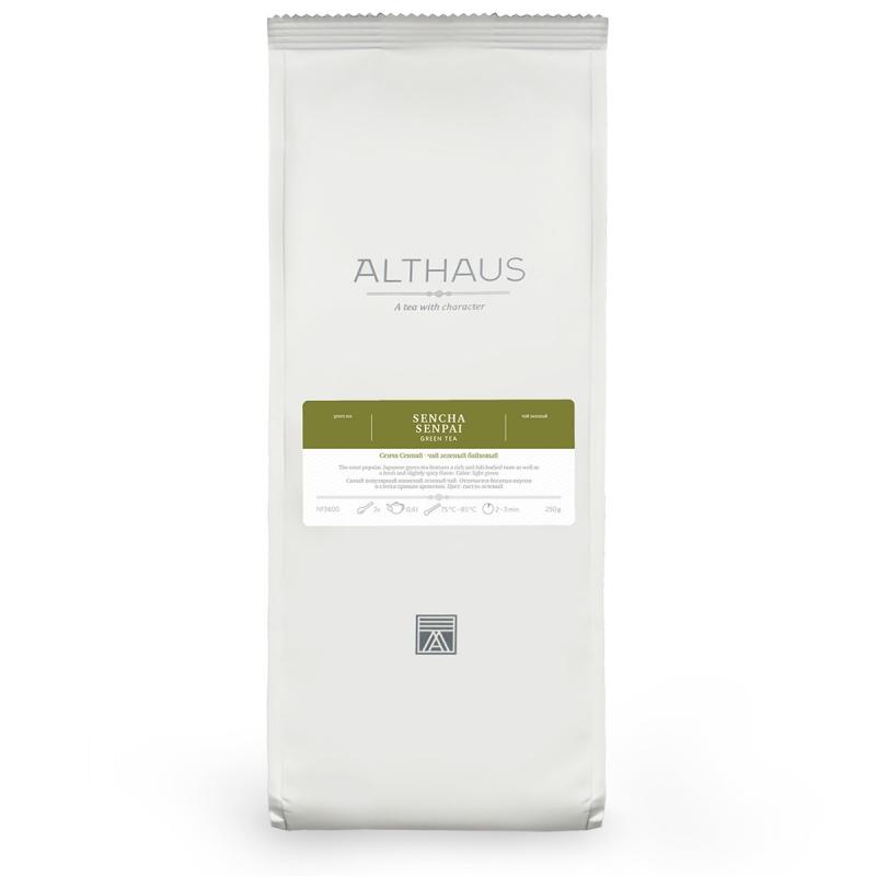 Чай Althaus Sencha Senpai зелёный листовой 250 гр