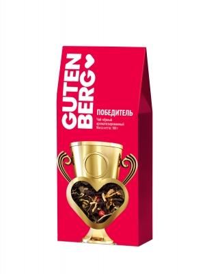 Чай зелёный с чёрным Gutenberg Победитель 100 г