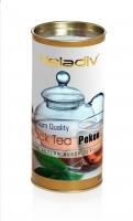 Чай черный Heladiv Round Pekoe листовой в картонной тубе 70 г