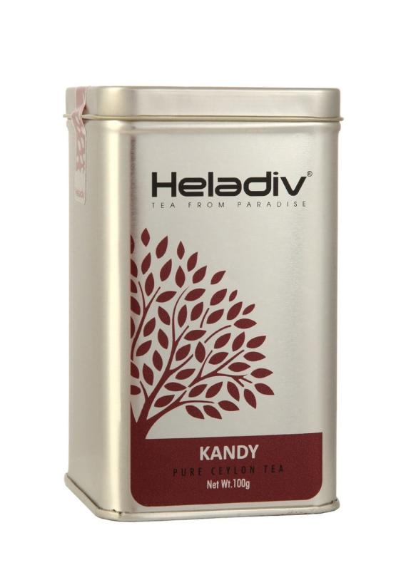 Чай черный Heladiv Kandy Tea элитный цейлонский с плантации Канди 100 г