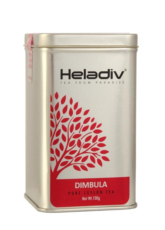 Чай черный Heladiv Dimbula Tea элитный плантационный 100 г